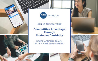 Join Us To Strategize: Competitive Advantage Through Customer Centricity